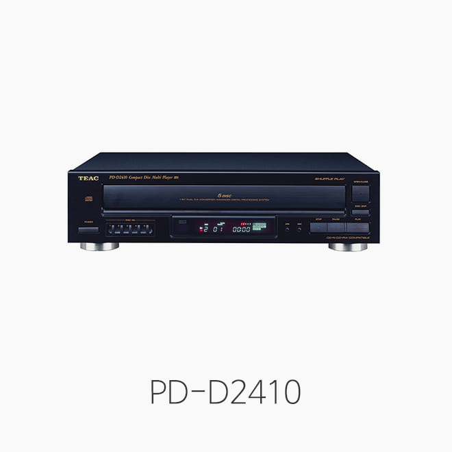 [TEAC] PD-D2410, 5CD체인저