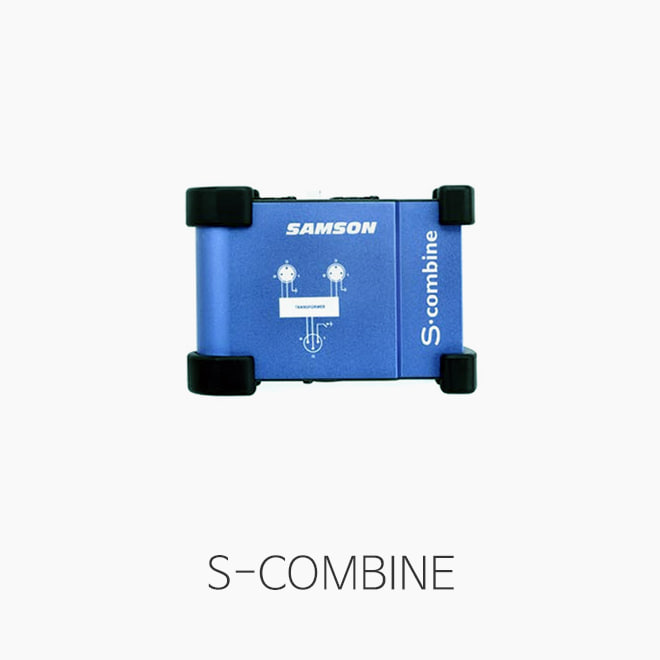 [SAMSON] S-COMBINE, 2IN 1OUT 마이크 콤바이너