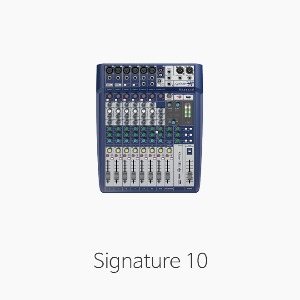 [Soundcraft] Signature10 오디오 믹서