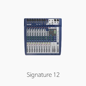 [Soundcraft] Signature12 오디오 믹서