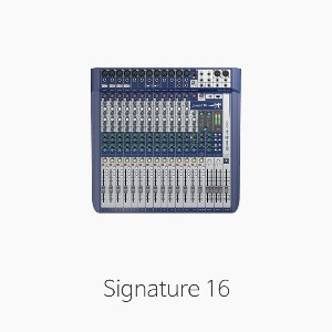 [Soundcraft] Signature16 오디오 믹서