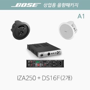 BOSE 보스 상업용 음향패키지 A1 / DS16F