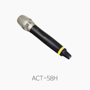 [MIPRO] ACT-58H 무선 핸드마이크/ 5.8GHz
